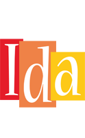 Ida colors logo