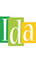 Ida lemonade logo