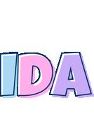 Ida pastel logo