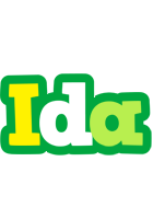 Ida soccer logo