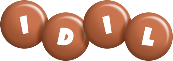 Idil candy-brown logo