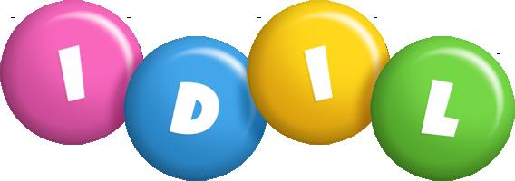 Idil candy logo