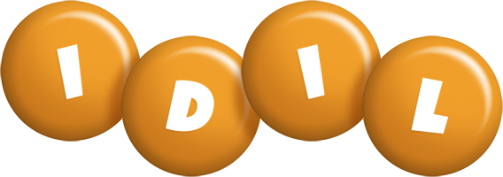 Idil candy-orange logo