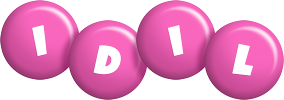 Idil candy-pink logo