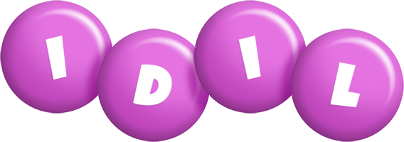 Idil candy-purple logo