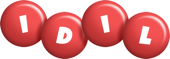 Idil candy-red logo