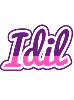 Idil cheerful logo