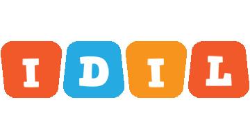 Idil comics logo