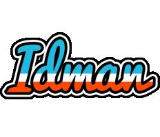 Idman america logo