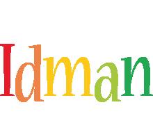 Idman birthday logo
