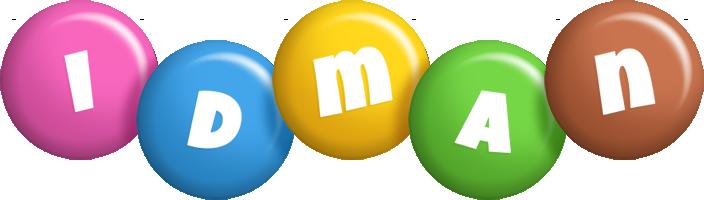 Idman candy logo