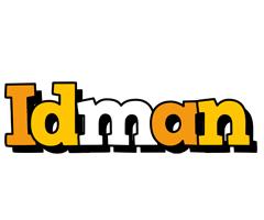 Idman cartoon logo