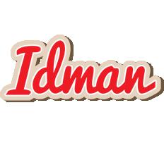 Idman chocolate logo