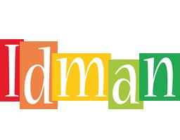 Idman colors logo