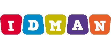 Idman daycare logo