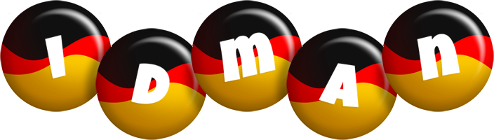 Idman german logo