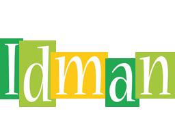 Idman lemonade logo