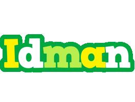 Idman soccer logo