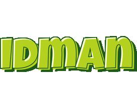 Idman summer logo