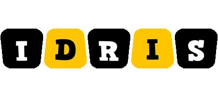 Idris boots logo