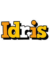 Idris cartoon logo