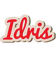 Idris chocolate logo