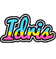 Idris circus logo