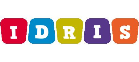 Idris daycare logo