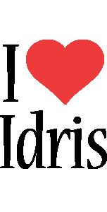 Idris i-love logo