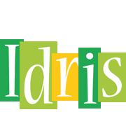 Idris lemonade logo