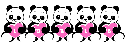 Idris love-panda logo