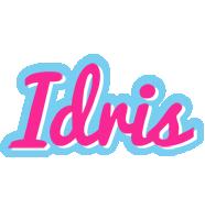 Idris popstar logo