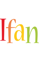 Ifan birthday logo