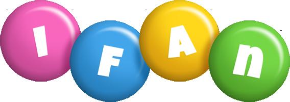 Ifan candy logo
