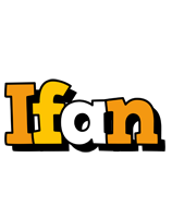 Ifan cartoon logo