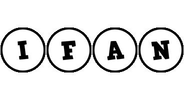 Ifan handy logo