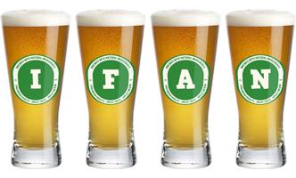 Ifan lager logo