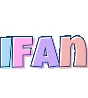 Ifan pastel logo