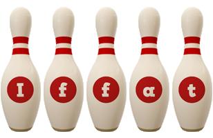 Iffat bowling-pin logo