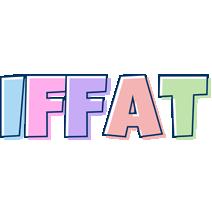 Iffat pastel logo