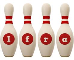 Ifra bowling-pin logo