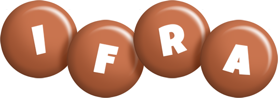 Ifra candy-brown logo