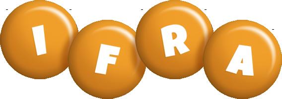 Ifra candy-orange logo