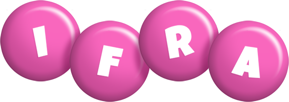 Ifra candy-pink logo