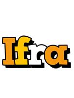 Ifra cartoon logo