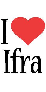 Ifra i-love logo