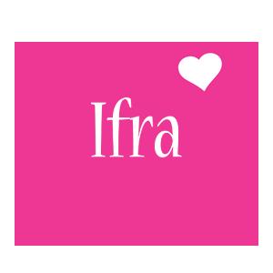 Ifra love-heart logo