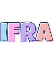 Ifra pastel logo