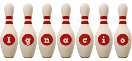 Ignacio bowling-pin logo