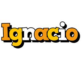 Ignacio cartoon logo